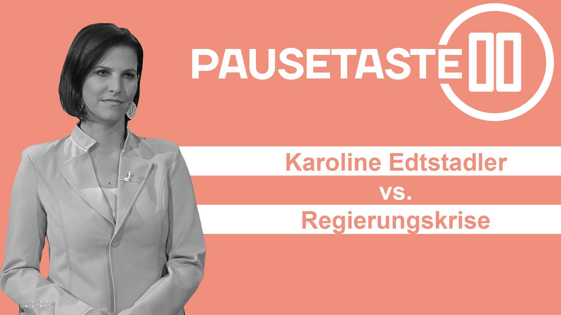 Wie Ministerin Edtstadler Sebastian Kurz verteidigt.
