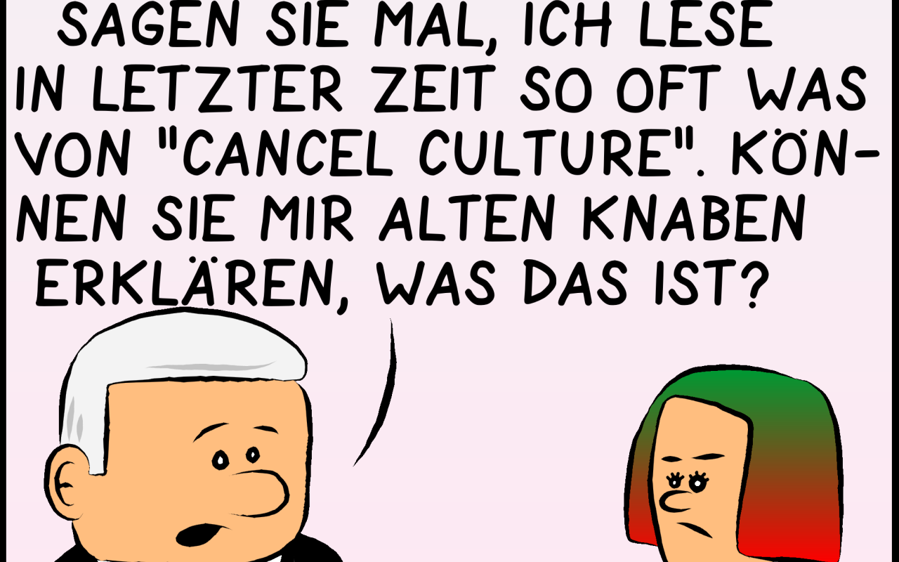 Hebel der Macht: Cancel Culture
