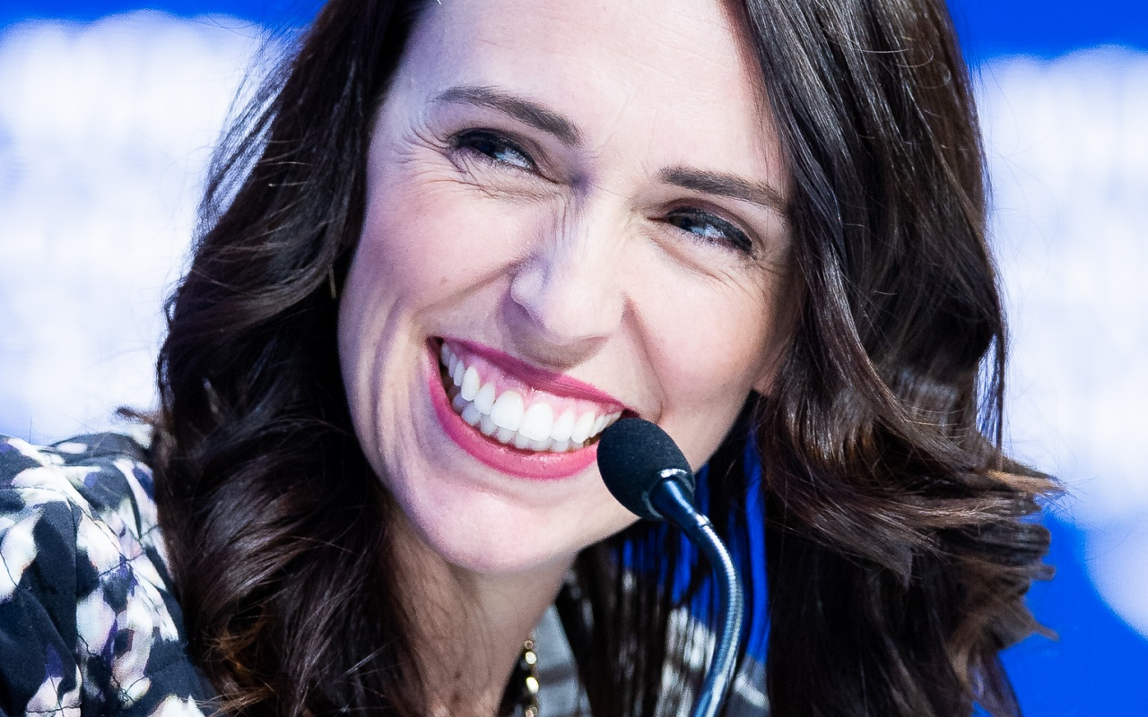 Jacinda Ardern beim World Economic Forum.