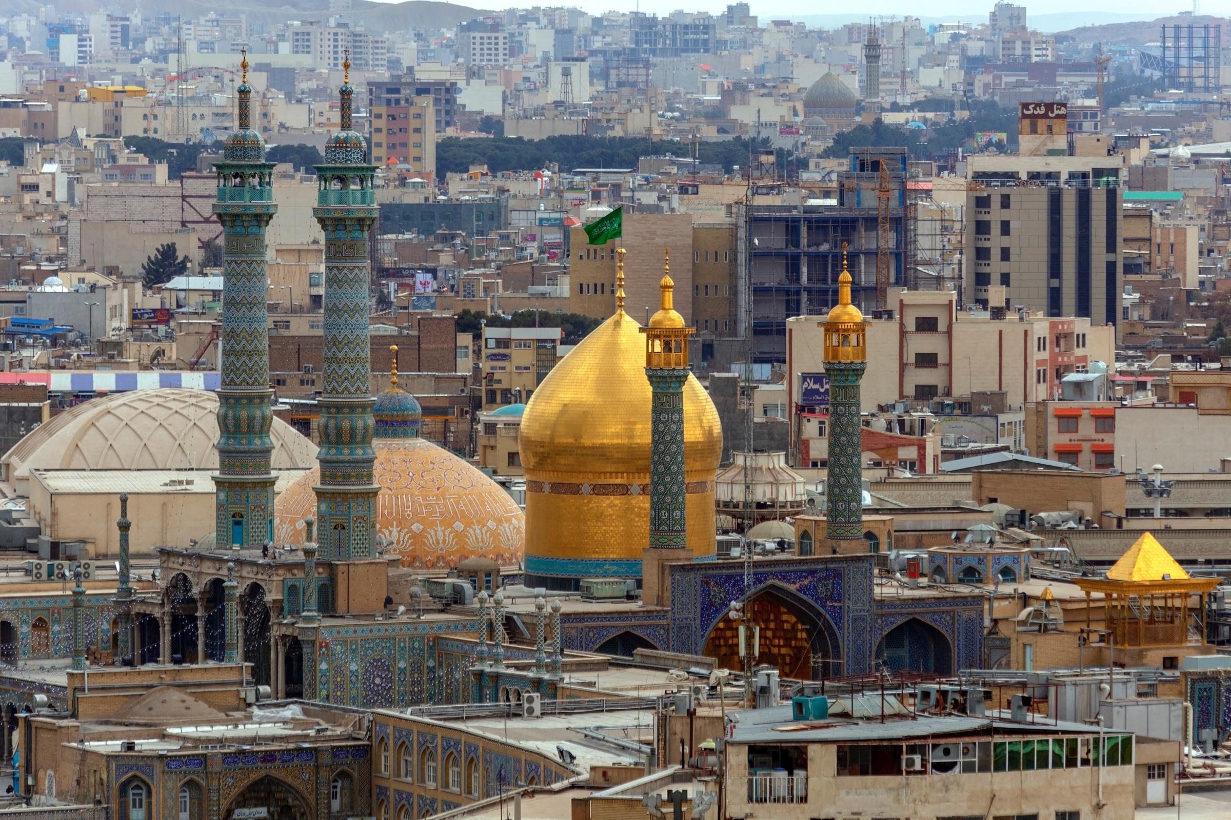 Stadt Im Iran 7 Buchst